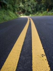 Roads along Maui