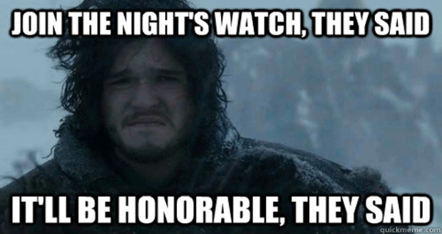 Jon+Snow+Join+Nights+Watch+They+Said